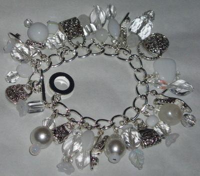 Charm Bracelet Loaded Themes Colours Handmade Custom