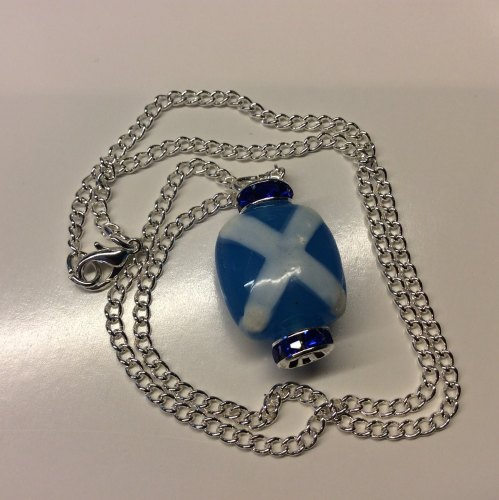 Saltire Pendant Burns St Andrews Scottish Ceilidh