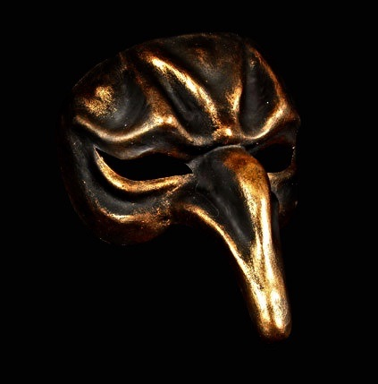 Pulcinella mask image