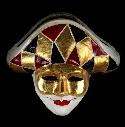 Arlecchino mask image