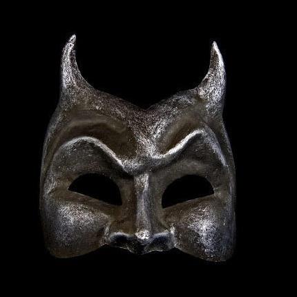 Diavolo Masquerade Face Mask - Iron