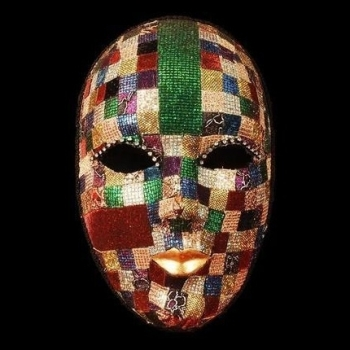 Mosaic Venetian Masquerade Face Mask - Female