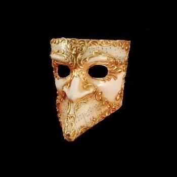 Bauta Musica Masquerade Mask