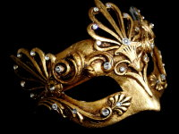 Aria Luxury Mask - Gold