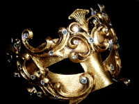 Fuoco Mask - Gold