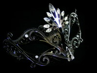 Romance Filigree mask - Argento