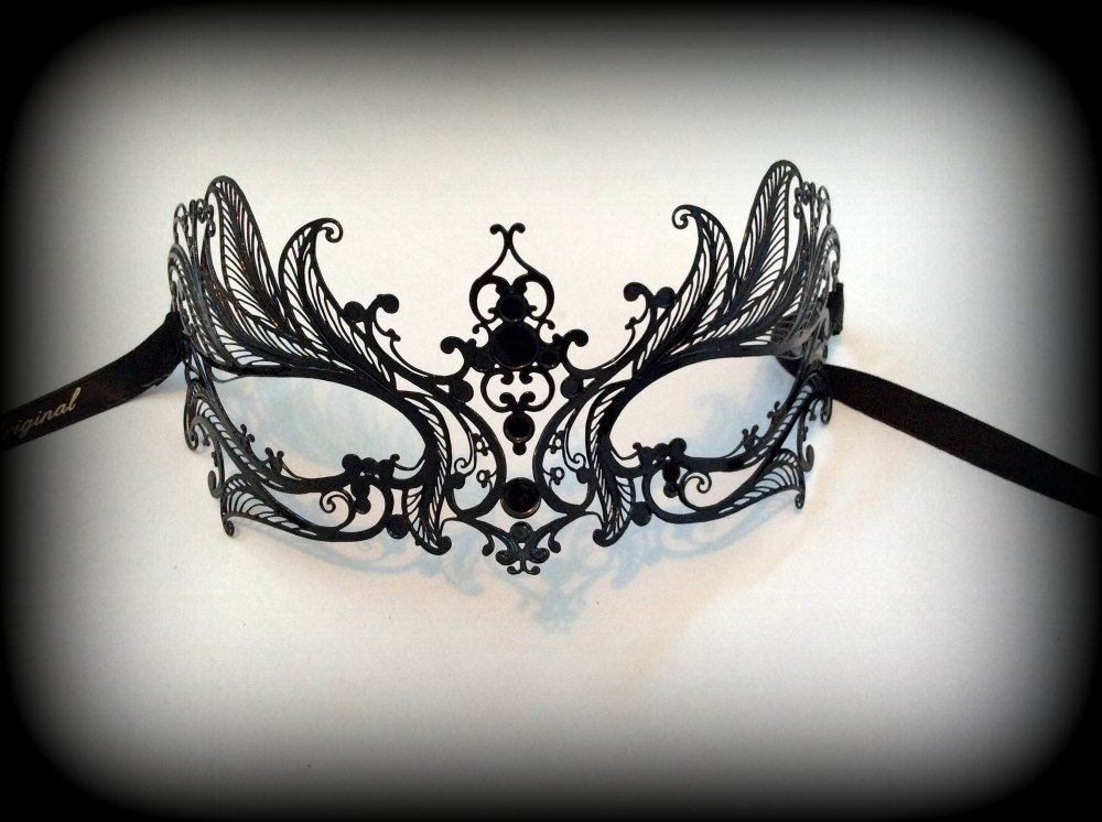 Mughetto Filigree Metal Mask - No Strass