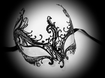 Rugiada Filigree Mask - No Strass