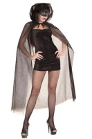 Glitter Tulle Hooded Cape