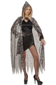Hooded Spiderweb Cape