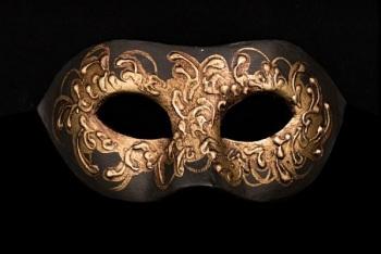 Cignetta Musica Designer Venetian Masquerade Mask