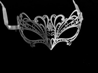 Papete Filigree Mask - White
