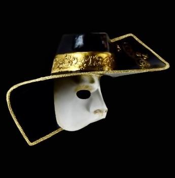 Phantom of the Opera Venetian Masquerade Face Mask - Arlecchino