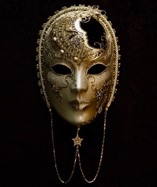 Luna Ladies Masquerade Mask