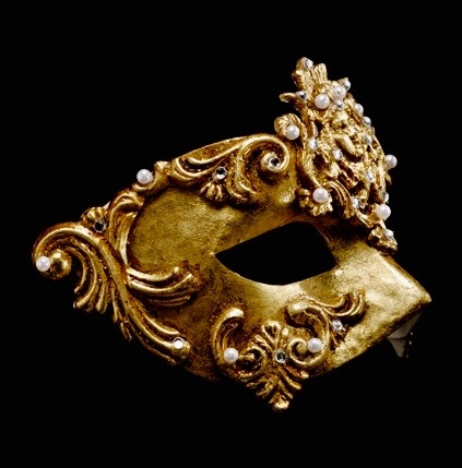 Dama Luxury Masquerade Ball Mask - Gold