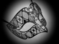Fantasia Filigree Venetian Mask - Designer