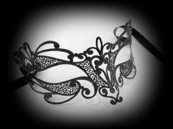 Flora Filigree Metal Mask
