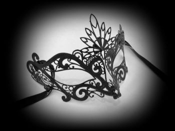 Romance Filigree Metal Mask - No Strass