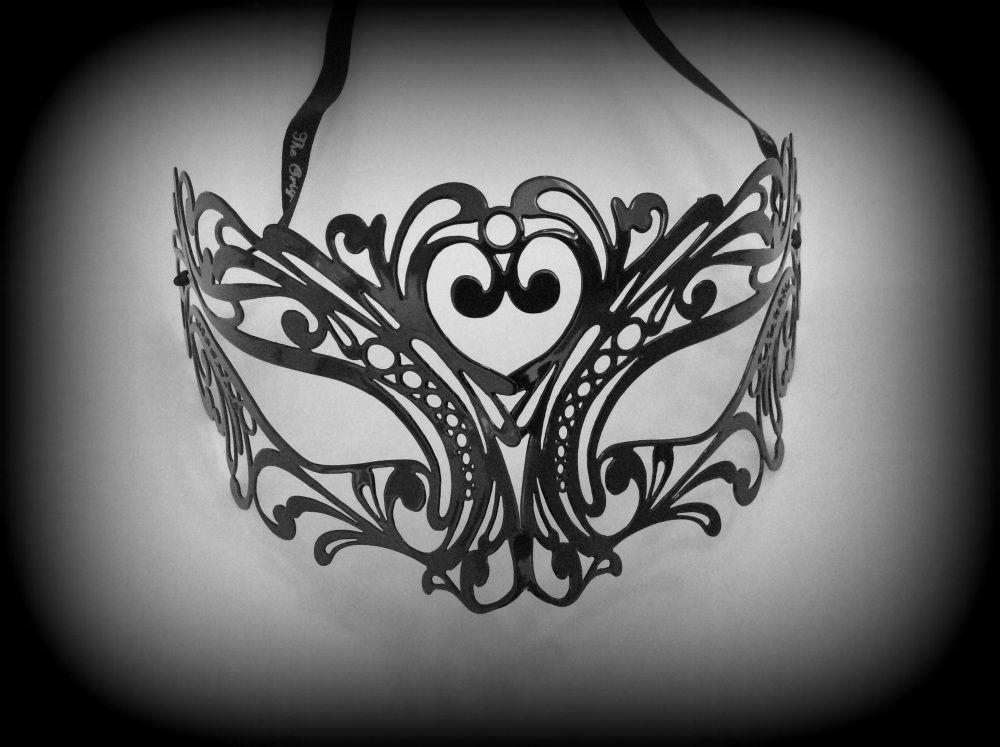 Tattoo Filigree Metal Mask