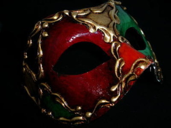Color Masquerade Masks