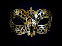 Brillina Filigree Mask - Gold