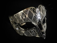 Fantasia Filigree Mask - Silver