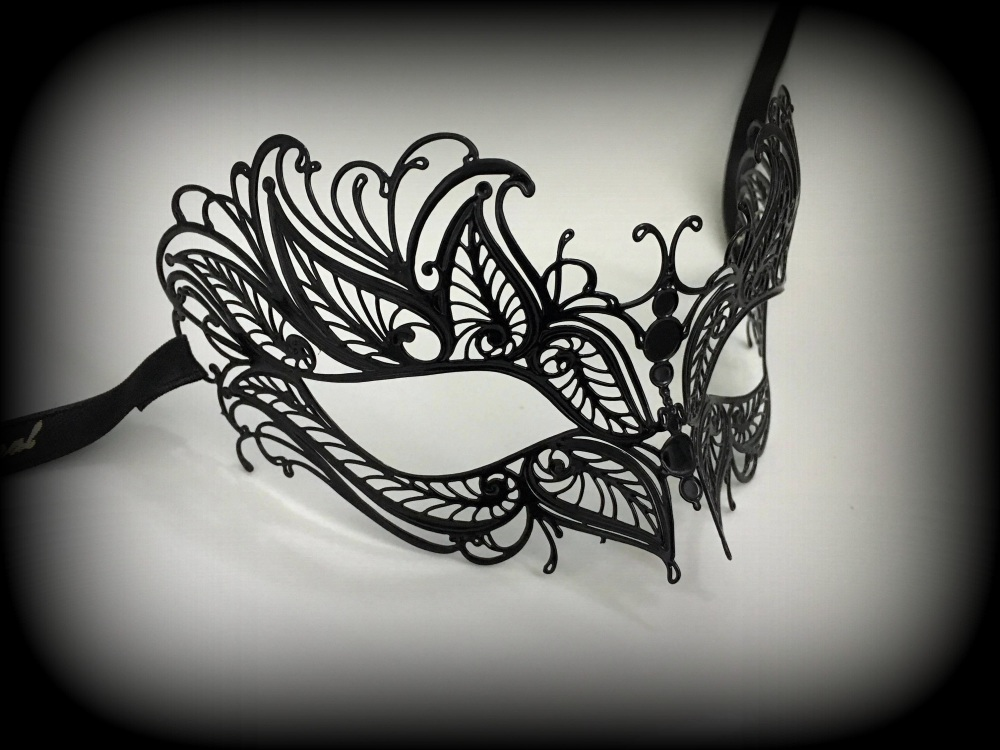 Petalo Filigree Mask - No Strass