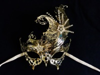 Panache Lux Filigree Mask