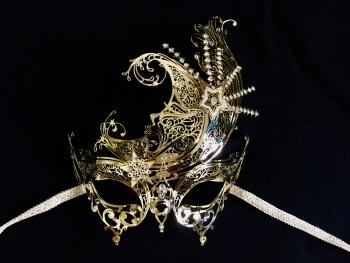 Panache Lux Filigree Mask