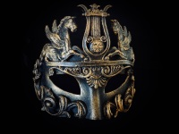 Cavalli Venetian Luxury Masquerade Ball Mask - Bronze
