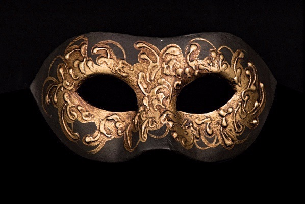 The exclusive Cignetta Musica Designer Masquerade Mask is a real Venetian masterpiece from our collection of genuine, hand-made masks.