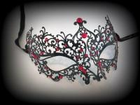 Ricciolo Filigree Mask - Red Edition