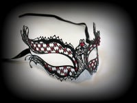 Mon Amour Filigree Mask Red Lust Edition - Vampire Diaries