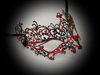 Elise Filigree Metal Mask