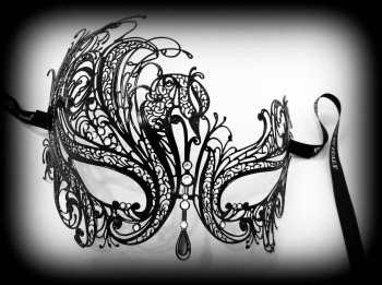Mireille Filigree Venetian Mask