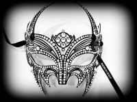 Vampire Lady Filigree Mask