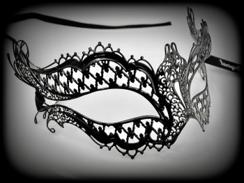 Mon Amour  - Vampire Diaries Filigree Mask