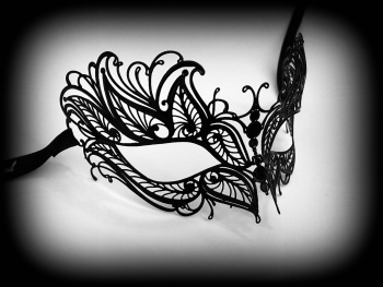 Petalo Filigree Mask - No Strass