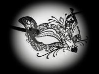 Gattina Strass Filigree Mask
