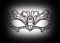 Papete Filigree Masquerade Mask - Swarovski Edition