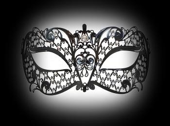 Brillina Strass Filigree Mask