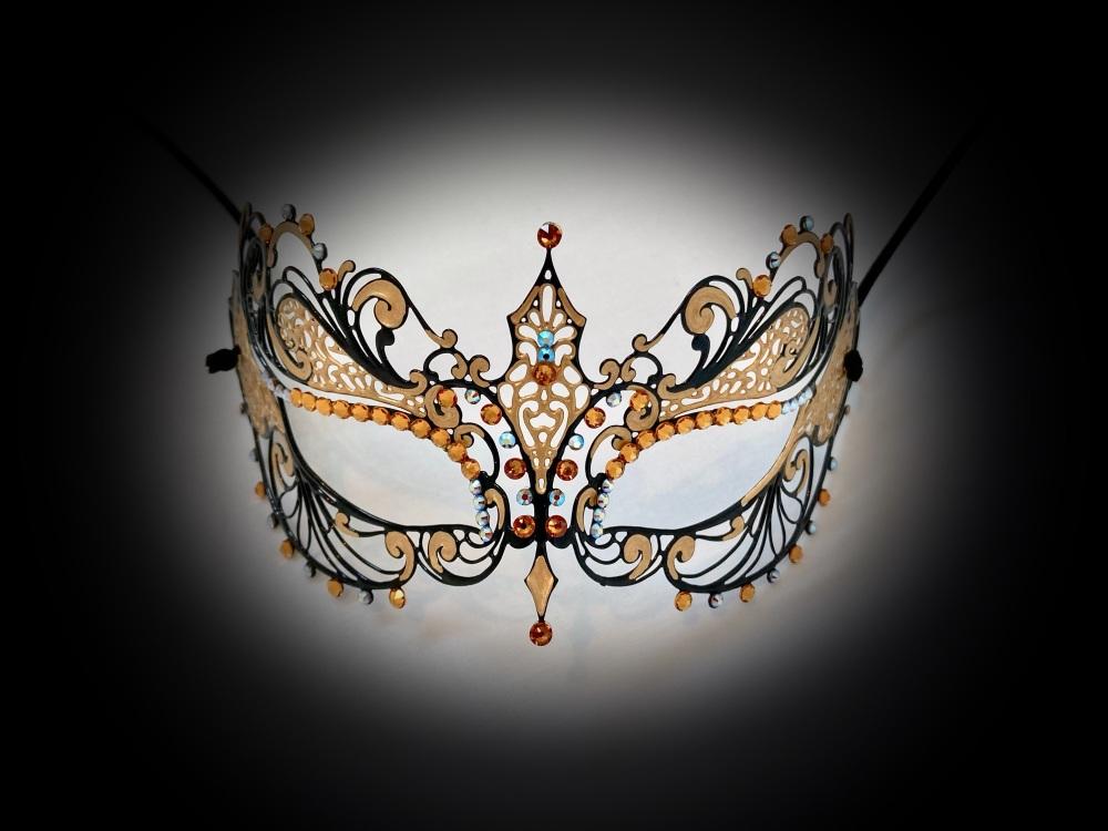 Berenice Vampire Filigree Mask