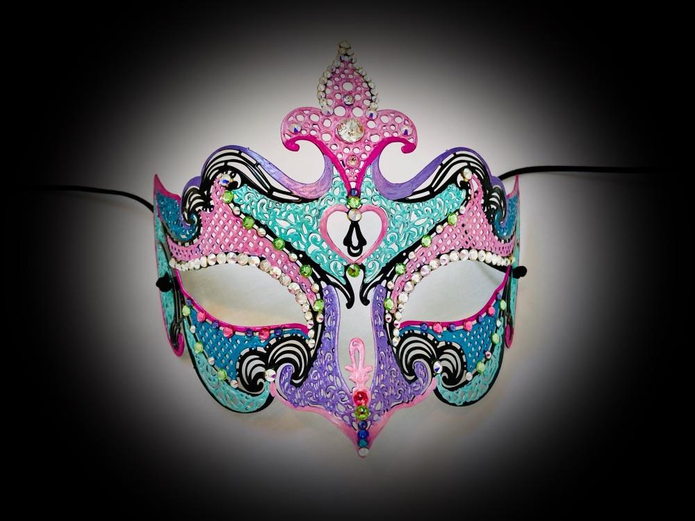Cleopatra Venetian Masquerade Mask - Swarovski Edition