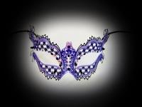 Mon Amour Designer Filigree Mask
