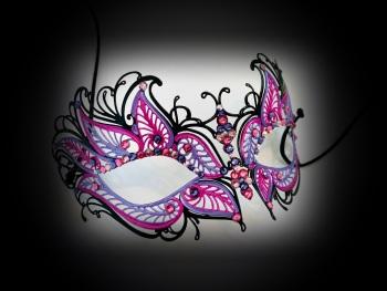 Petalo Filigree Mask - Rosa