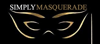 Simply Masquerade Mask Shop Logo