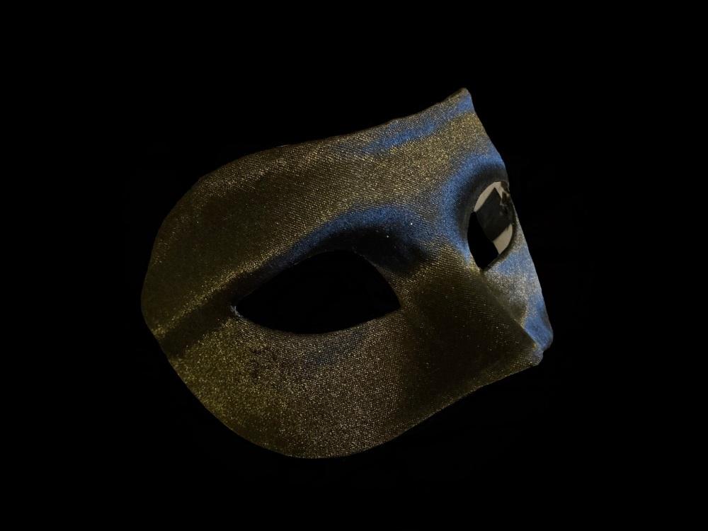 Farallina Luxury Masquerade Ball Mask - Male