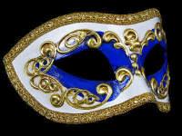 Occhi Masquerade Masks - Blue
