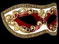 Occhi Masquerade Masks - Red