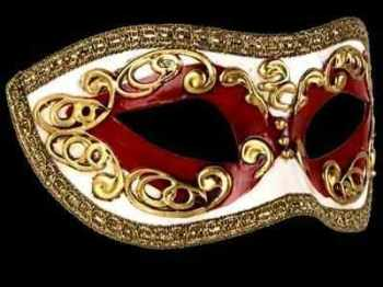 Occhi Masquerade Masks - Red